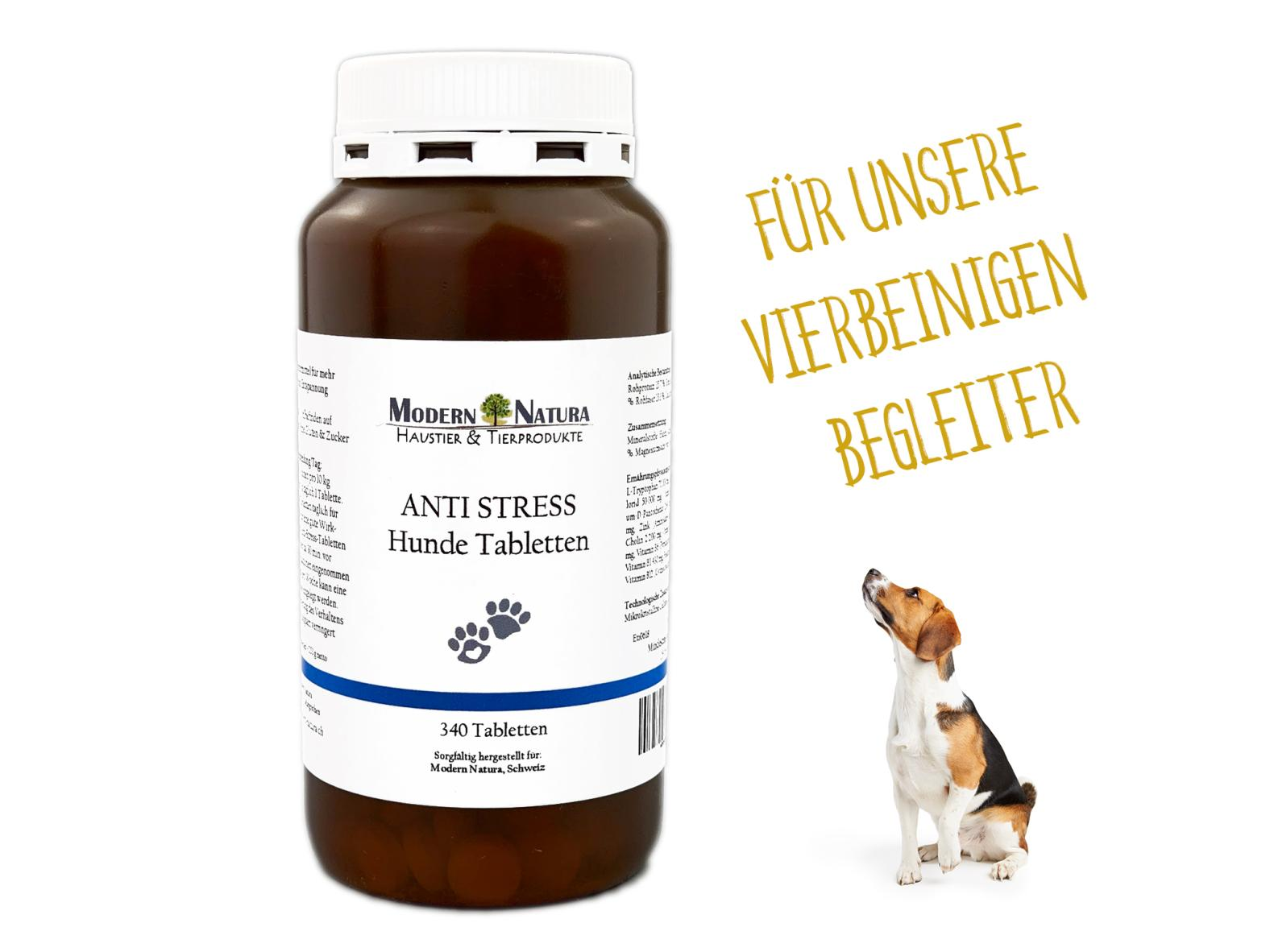 Anti Stress Hunde Tabletten (340 Stück)