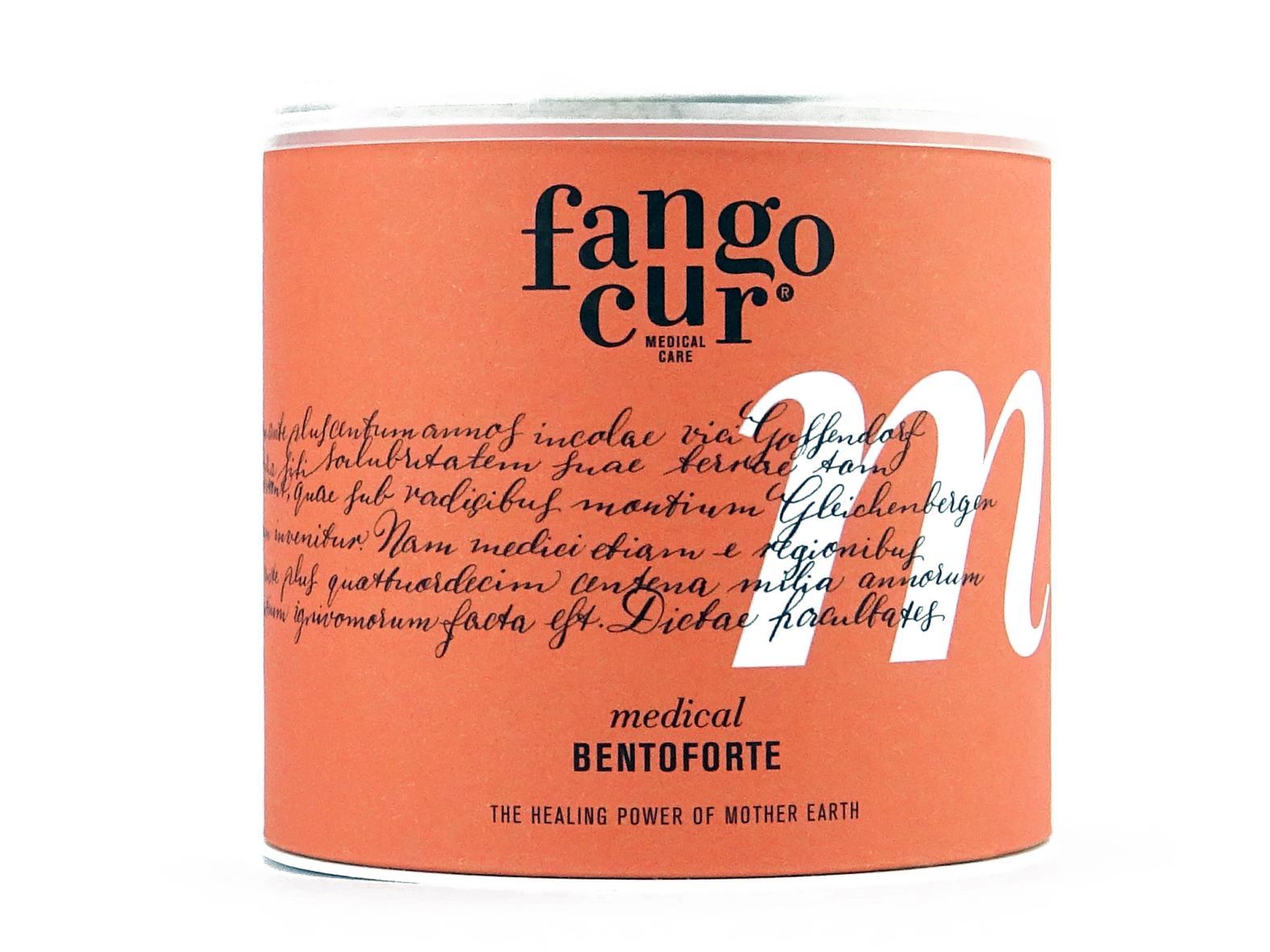 Fangocur Bentoforte - 200ml Dose - Gossendorfer Naturfango - Das erste natürliche Produkt gegen Mundgeruch