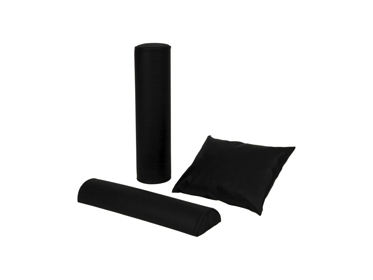 Lagerungskissen-Set, 3-tlg., 60 cm Rolle, Halbrolle & Kopfkissen