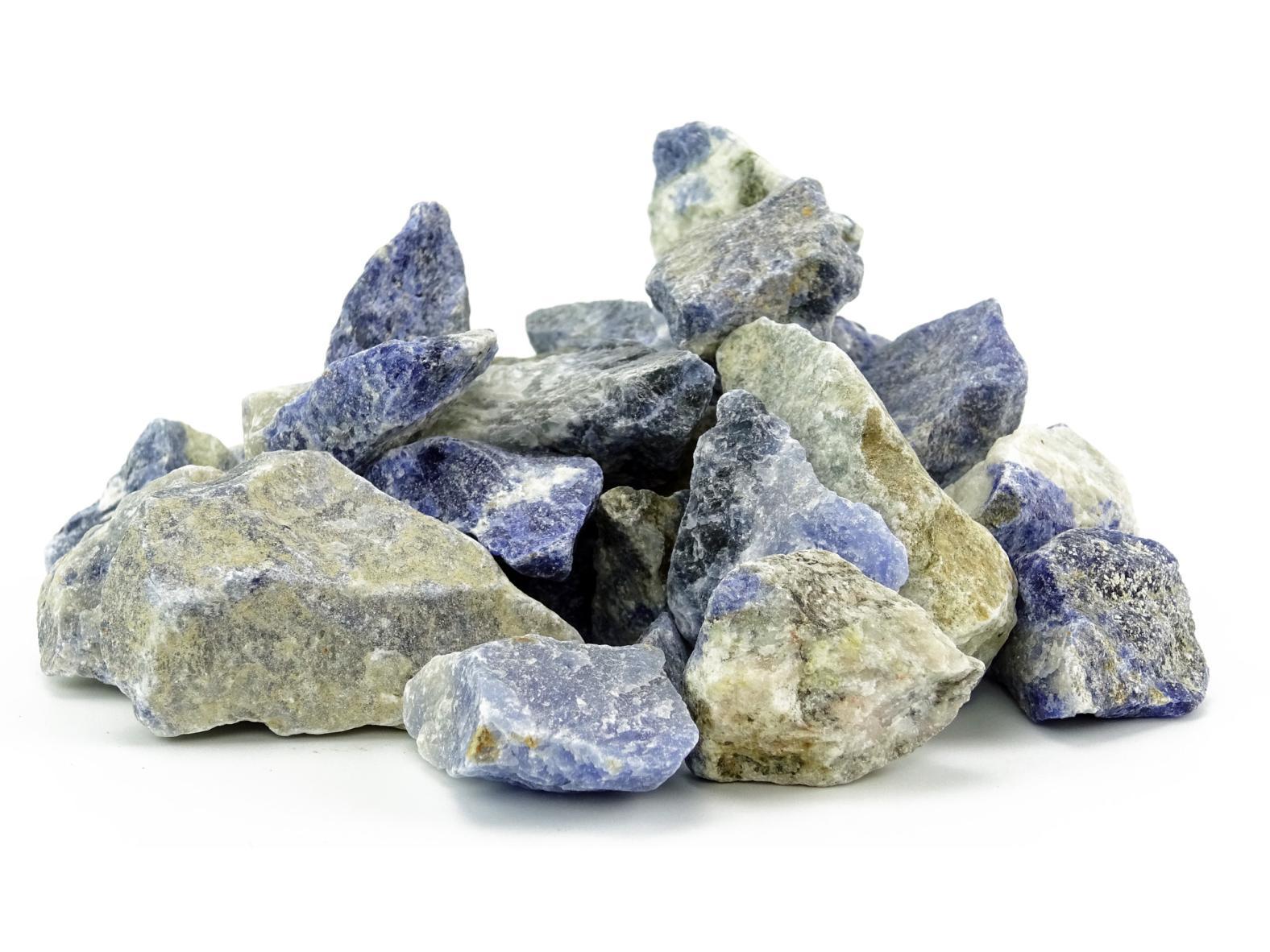 Sodalith Wassersteine / Dekosteine (0,5 kg)