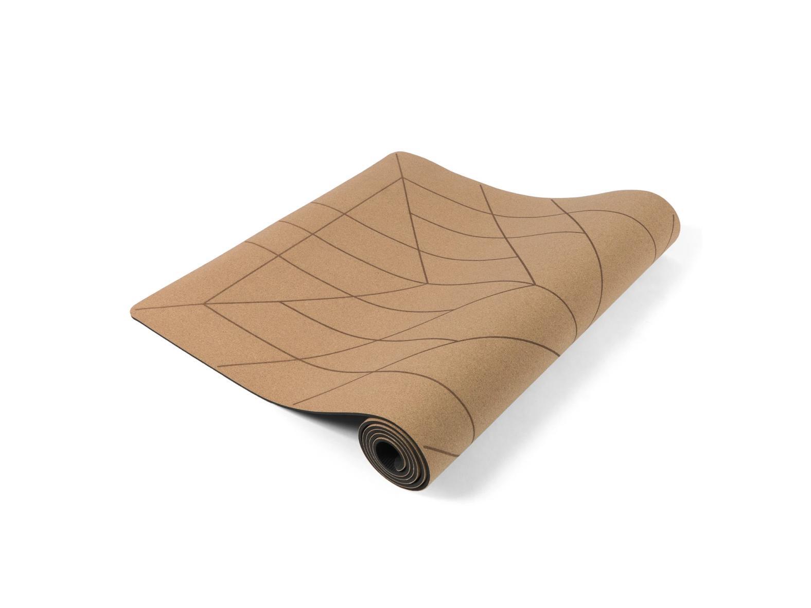 Yogamatte ALIGN aus Kork / CORK (183 x 66 cm) inkl. praktischem Tragegurt