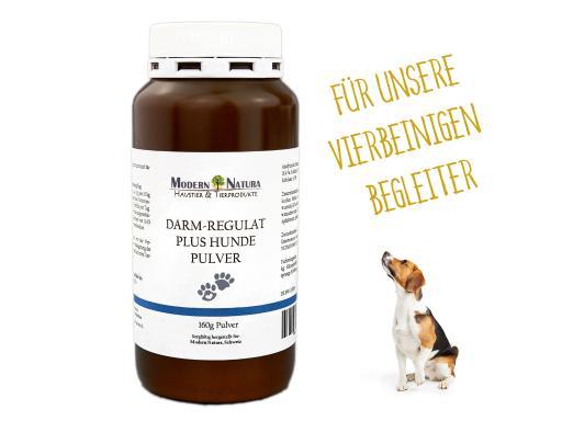 Darm-Regulat Plus Pulver - 160g - Für Hunde - Probiotisches Diät-Ergänzungsfuttermittel für die Verdauung