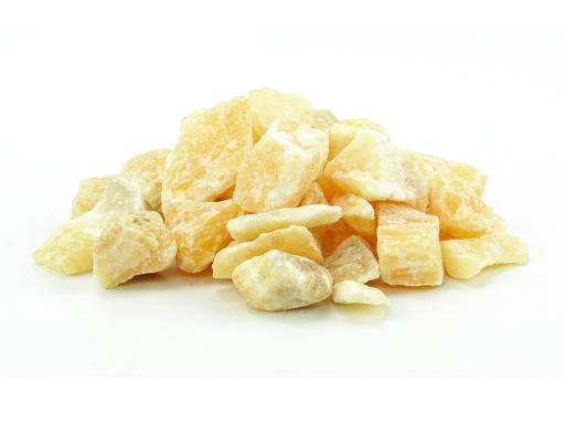 Orangen Calcit Wassersteine / Dekosteine (0,5 kg)