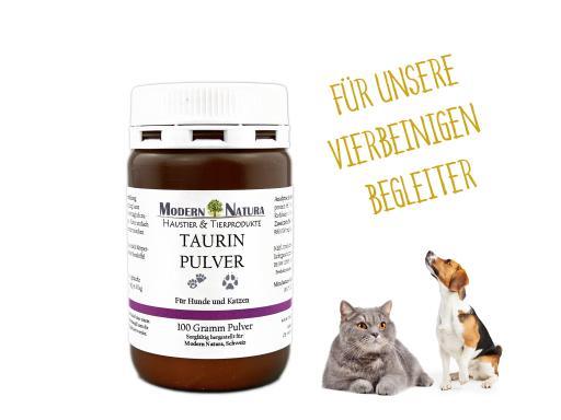 Taurin Pulver für Hunde & Katzen (100 Gramm)