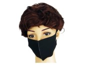 Mund und Nasenschutzmaske Virella (Farbe: Schwarz) - FFP3 ...