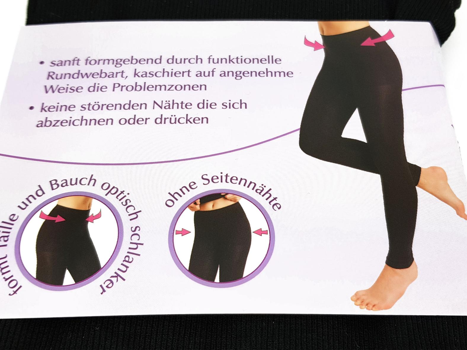 Yoga- & Sporthose - Form-Leggings (L bis XL)